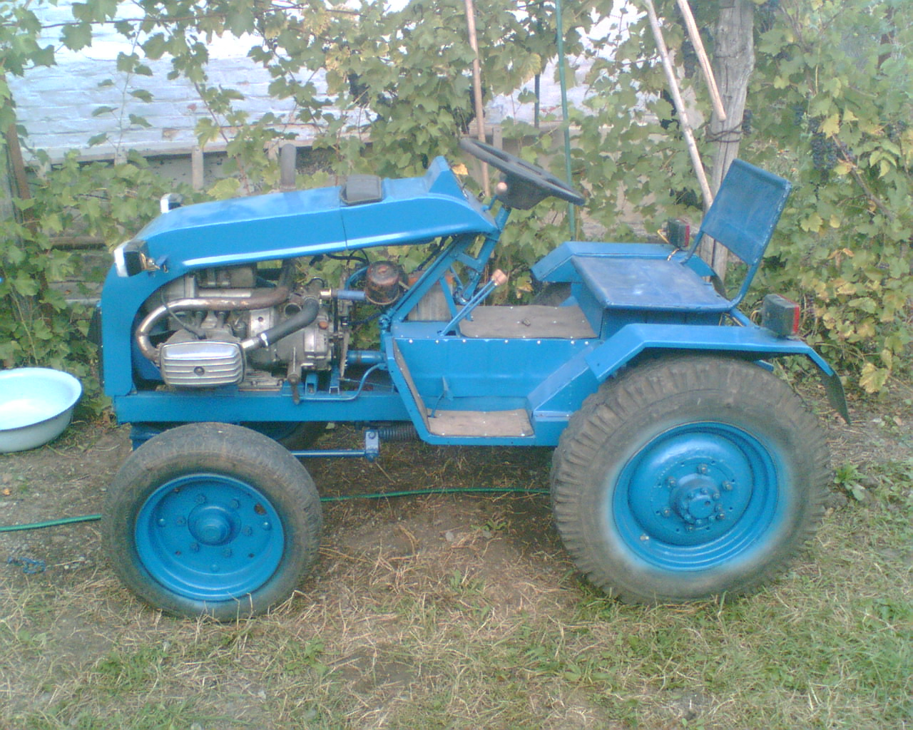 Самодельные мини-тракторы своими руками